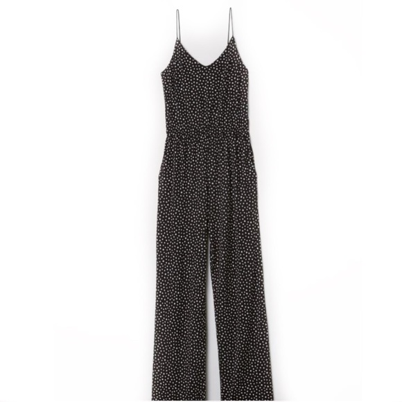 abdd439a73fb 💫NWT💫Polka-Dot Jersey Jumpsuit by H M